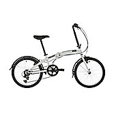 "Freespirit Ruck 20"" Wheel Unisex Folding Bike Grey/Black"