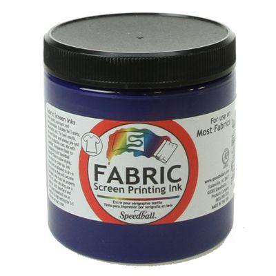 Speedball Fabric Screen Printing Ink - Process Cyan 236ml
