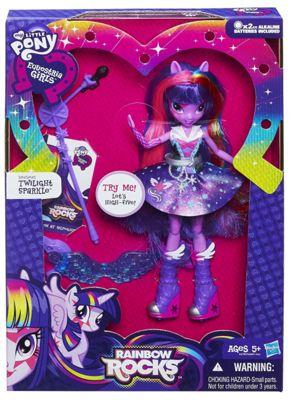 My Little Pony - Rainbow Rocks Singing Twilight Sparkle