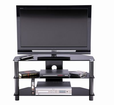 Alphason Essential 3 Shelf TV Stand for up to 32