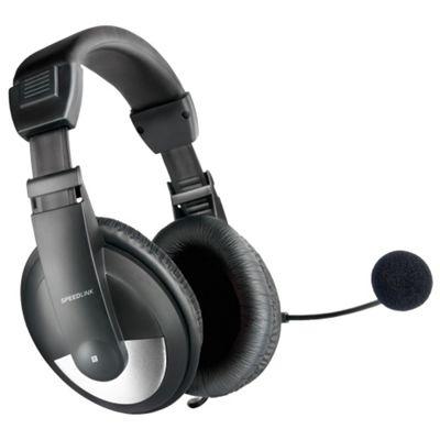 SPEEDLINK THEBE Binaural Head-band Black headset
