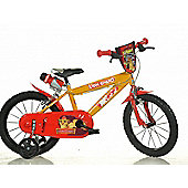 The Lion Guard 16inch Balance Bike Red - DINO Bikes