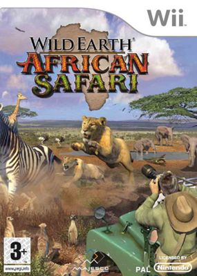 Wild Earth - African Safari - NintendoWii