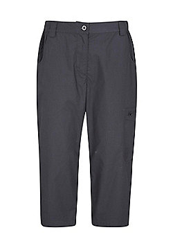 Mountain Warehouse Womens Technical Trouser with Lightweight and Fast Drying - Black