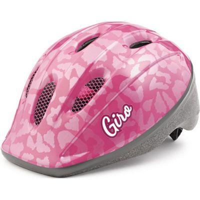 Giro Rodeo Kids Helmet Pink Leopard