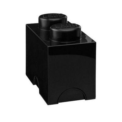 Lego Storage Brick Box 2 - Black