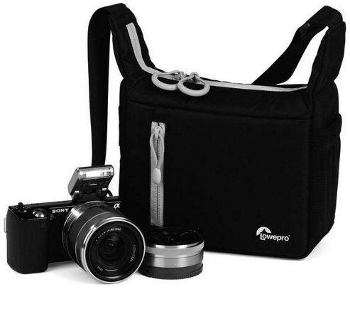 Lowepro Streamline 100 Shoulder Bag - Black