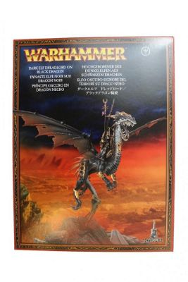 Warhammer Dark Elf Dreadlord On Black Dragon Model Kit