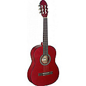 Stagg C430 3/4 Size Classical Guitar - Red
