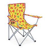 Trail Watermelon Folding Festival Chair - Yellow