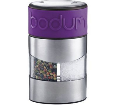 Bodum Twin Purple Salt and Pepper Grinders