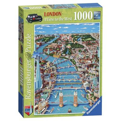 Ravensburger London A View To The West 1000-Piece Jigsaw Puzzle