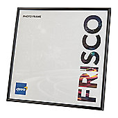 "Kenro Frisco Black Square Photo Frame to hold a 5x5"" photo."