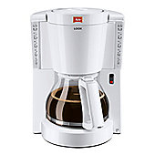 Melitta-1011-01 Look Therm Filter Coffee Machine with 15 Cup Capacity in White