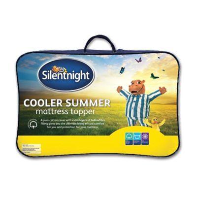 Silentnight Cooler Summer Mattress Topper - Single