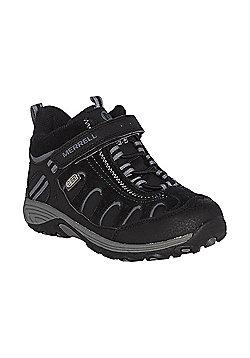 Merrell Kids Light Tech Hike Mid Boots - Black