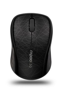 Rapoo 3100P 5GHz Wireless Optical Mouse (Black)