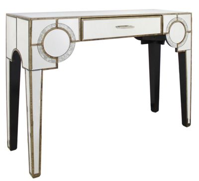 Gatsby Antique Mirror 1 Drawer Console Table