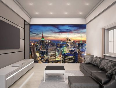 buy walltastic new york city skyline wall mural 8 ft x 10 ft from