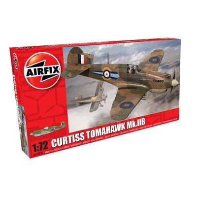 AIRFIX A01003A Curtis P-40B Tomahawk1:72 Aircraft Model Kit