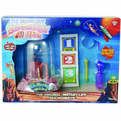 The Amazing live Sea Monkeys Deluxe On Mars