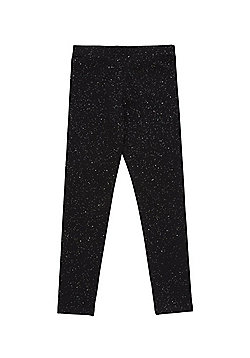 F&F Sparkle Leggings - Black