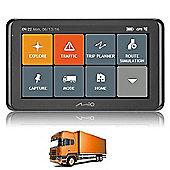"""Mio Spirit 8670LM Trucker 6"""" GPS SATNAV TRUCK HGV Lorry TomTom IQ Routes UK EU"""