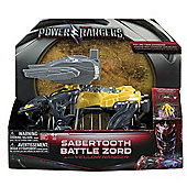 Power Rangers Movie Sabertooth Battle Zord
