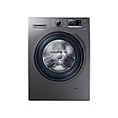 Samsung WW90J6410CX Washing Machine with 9kg Load and Ecobubble - Graphite
