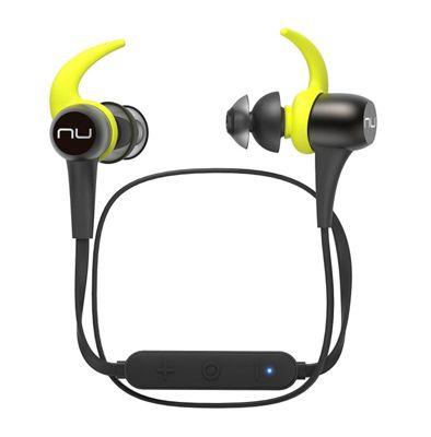 Optoma NuForce BE sport3-Gun Metal Finish Wireless Bluetooth In Ear Headphones