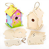 Wooden Birdhouse Craft Kits (Pack of 2)