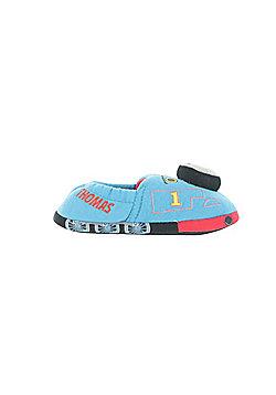Boys Thomas The Tank Novelty Choo Choo sound Slippers Navy Infant Sizes 4 to 11 - Blue