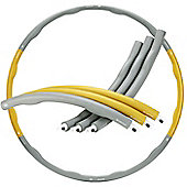 Gold Coast Foam Padded Weighted 1.2kg Fitness Exercise Sport Hula Hoop 100cm Wide