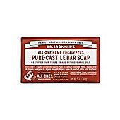 Dr Bronners Organic Eucalyptus Soap Bar 140g