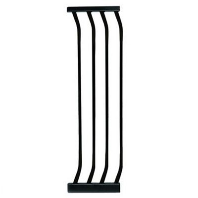 27CM Gate Extension BLACK - For Safety Gates F160B/F170B - F172B - Dreambaby