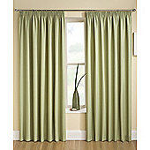 Enhanced Living Tranquility Green Pencil Pleat Curtains - 90x90 Inches (229x229cm)