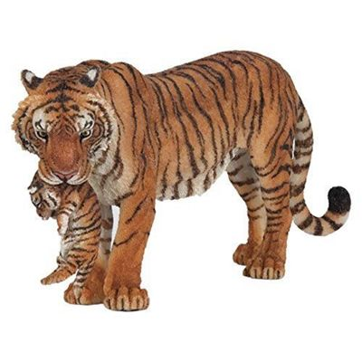 Papo Tigress with Cub Toy Figure