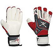 Precision Football Junior Schmeichology 5 Fusion Scholar Gk Gloves - White