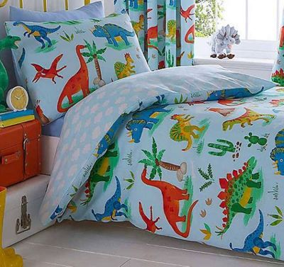 Dinosaur World Double Duvet