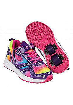 Heelys Rise Neon/Multi/Swirl HX2 Kids Heely Shoe - Multi