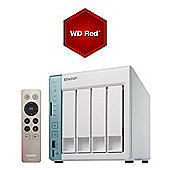 QNAP TS-451A-4G-12TB-RED 4-bay 12TB (4x3TB WD Red) Dual-core NAS
