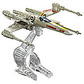 Hot Wheels Star Wars: Starship X-Wing Fighter Red 5