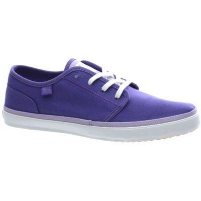 DC Studio LTZ Purple/Heather Grey Womens Shoe