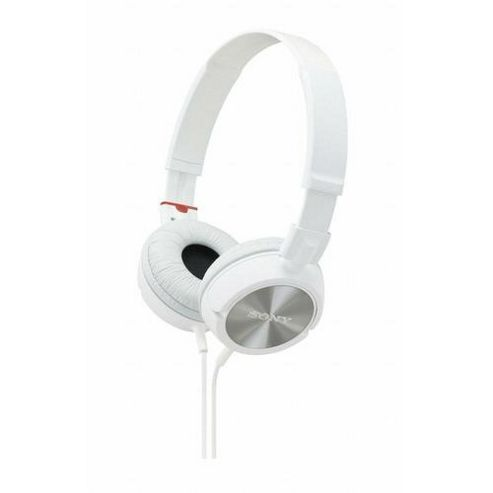 Sony MDRZX300W Fashionable Monitor Style Headphones - White