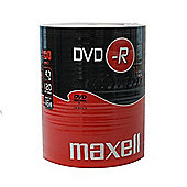 MAXELL 100 x DVD-R 4.7GB Blank Recordable Digital Discs