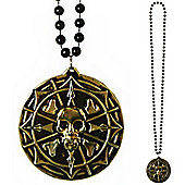 Three Sixty Degrees - Pirate Medallion Necklace