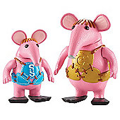 Clangers Collectable Figure Pack - Small and Major Clanger