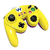 PDP Wario Wired Fight Pad for Nintendo Wii U (Yellow)