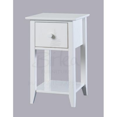 Compact Bedside Tables buy birlea cotswold compact bedside table - white from our bedside