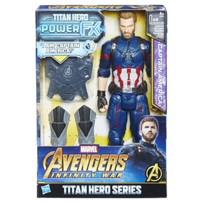 Marvel Avengers: Infinity War Titan Hero Power Fx Captain America